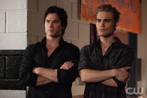 Damon y Stefan